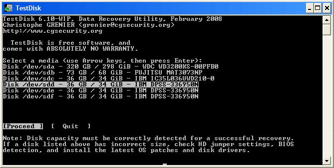 recuperer partition supprimée windows 10