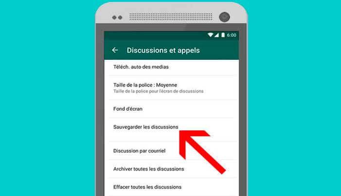récupérer sauvegarde whatsapp