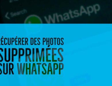 Récupérer des photos supprimées sur Whatsapp