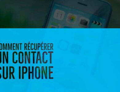 recuperer contact iphone