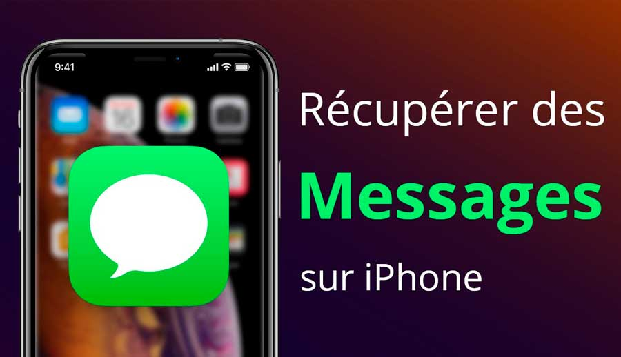 recuperer sms iphone